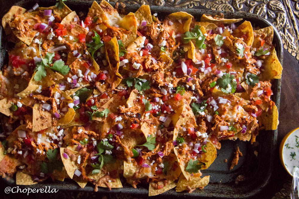 Butter chicken Nachos-5