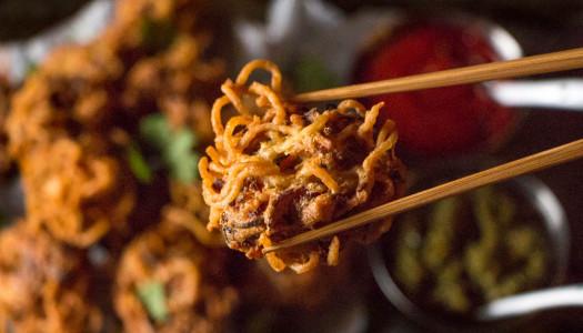 Maggi Noodle Pakoras