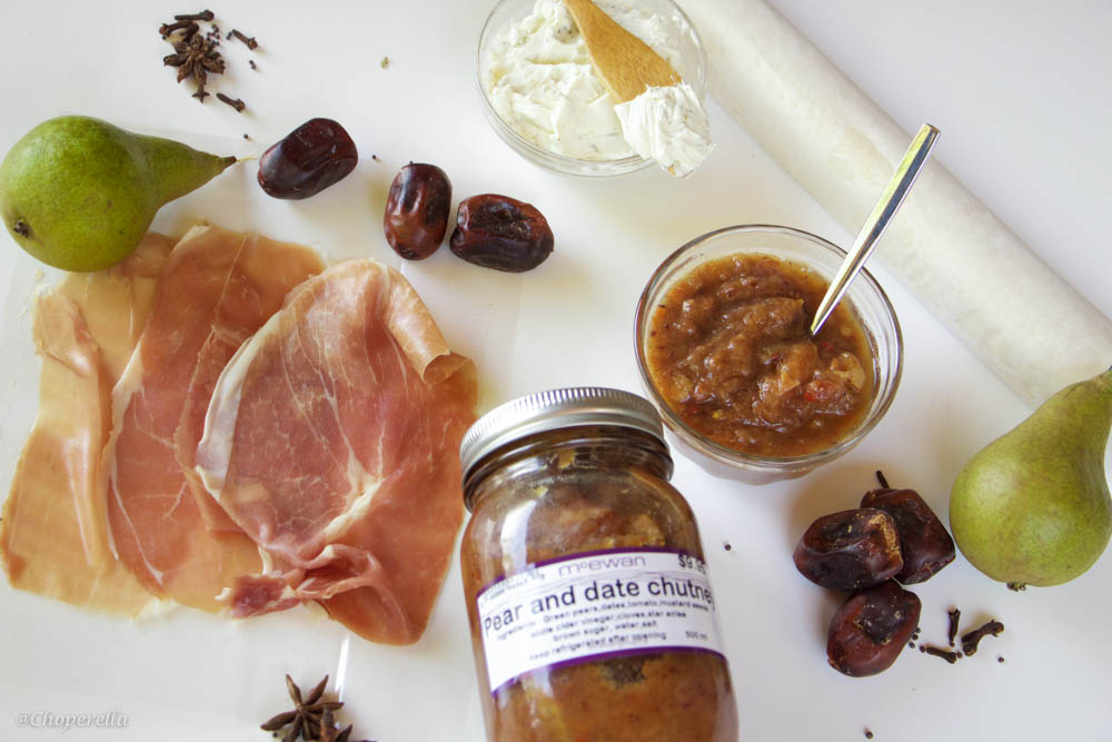 Pear and Date Chutney