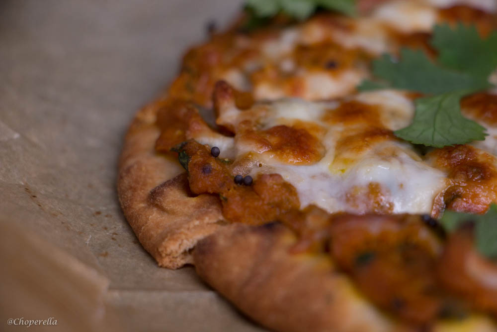 Pumpkin Naan Pizza-2
