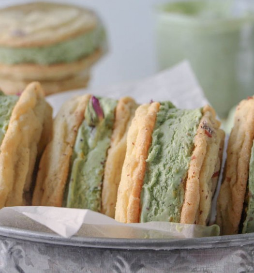 Rose & PIstachio Icecream Sandwich-1-12