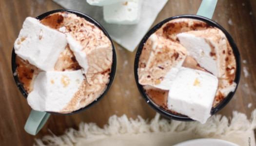 Creamy Cardamom Hot Chocolate