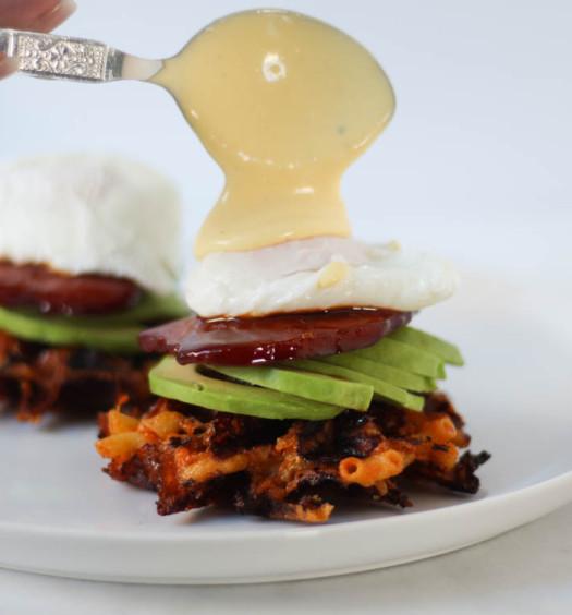 Kimchi Mac and Cheese Wafles Benedict-16