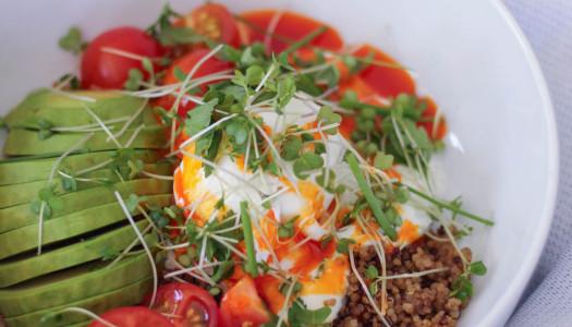 Quinoa Çilbir Bowl