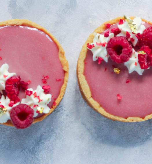 Pink Raspberry Tarts-1-2