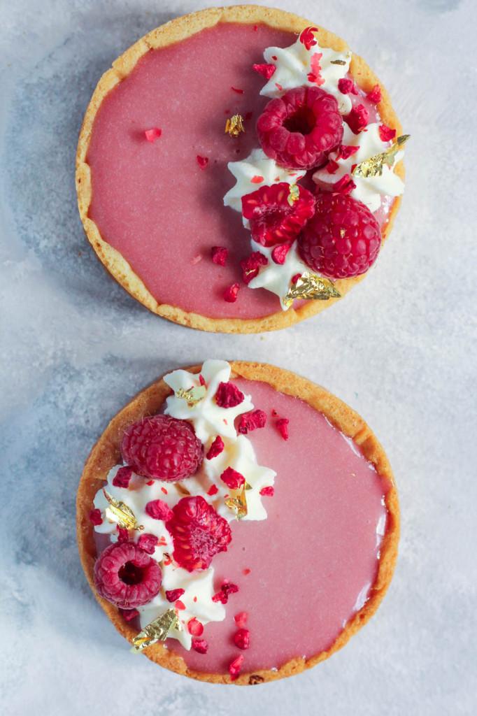 Pink Raspberry Tarts-20