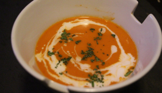 Roasted Red Pepper and Coconut Soup