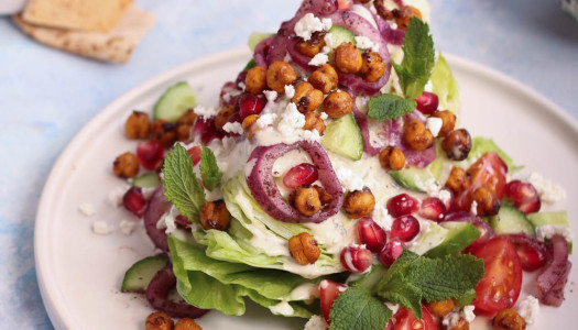 Middle Eastern Wedge Salad