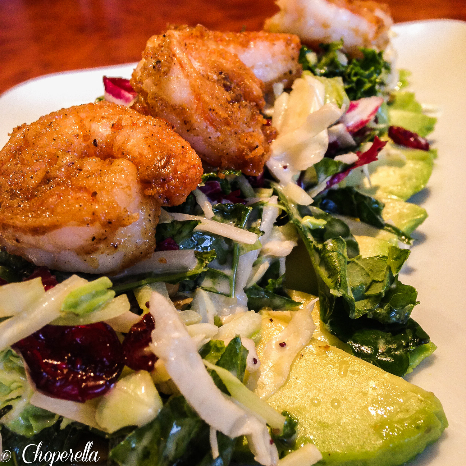 Crispy Shrimp Salad