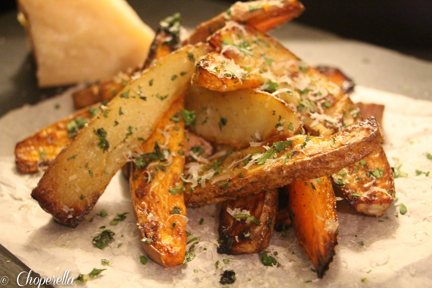 Truffled Parmesan Fries (1 of 1)